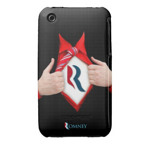 Romney Reveal iPhone 3 Cover