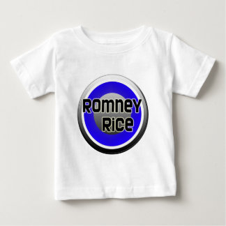 Romney Rice 2012 Baby T-Shirt