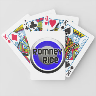 Romney Rice 2012 Bicycle Playing Cards