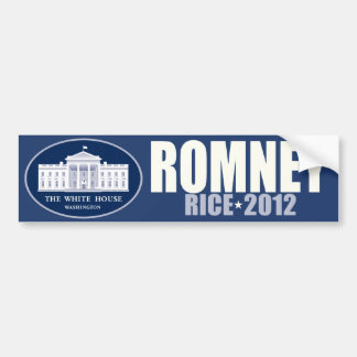 Romney - Rice - 2012 Bumper Sticker
