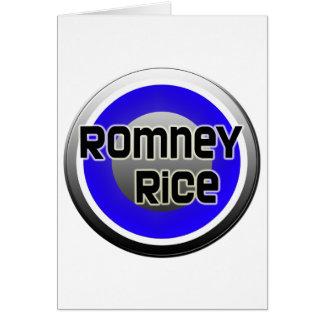 Romney Rice 2012 Card