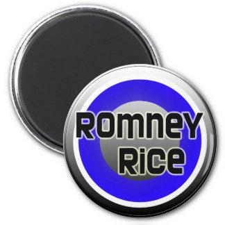 Romney Rice 2012 Fridge Magnets