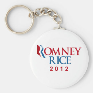 ROMNEY RICE 2012 OFFICIAL VP png Key Chain