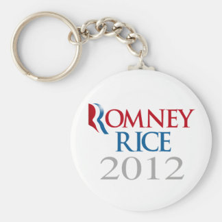 ROMNEY RICE 2012 - png Key Chain