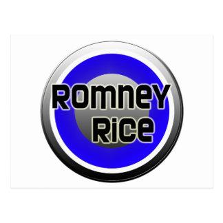 Romney Rice 2012 Postcard