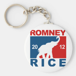 ROMNEY RICE 2012 PROFESSIONAL ICON png Keychain