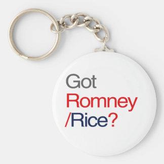 ROMNEY RICE GOT VP png Key Chains