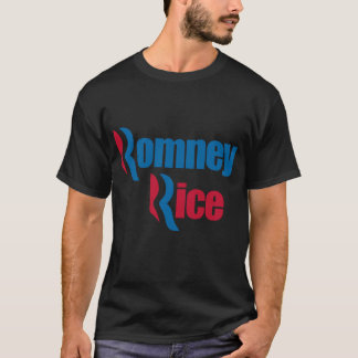 Romney Rice - Mitt Romney Condoleezza Rice T-Shirt
