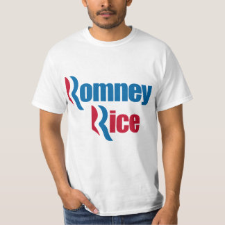 Romney Rice - President - Vice President 2012 Tees