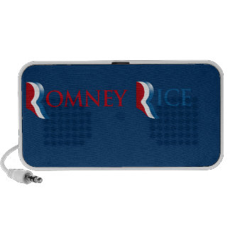 ROMNEY RICE R LOGO.png Mini Speaker