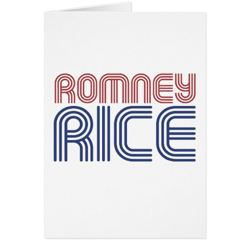 ROMNEY RICE VP DISCO 2.png Greeting Card