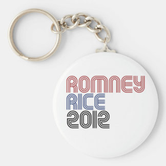 ROMNEY RICE VP DISCO png Keychain