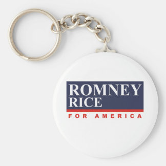 ROMNEY RICE VP FOR AMERICA png Key Chain