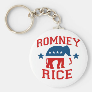 ROMNEY RICE VP GOP MASCOT png Keychains