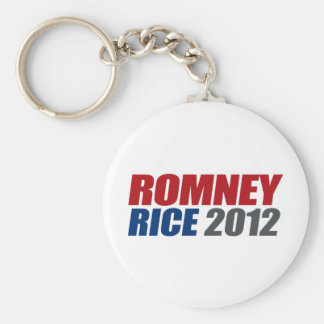 ROMNEY RICE VP IMPACT png Key Chain