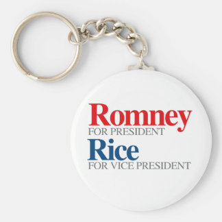 ROMNEY RICE VP PICK png Key Chains