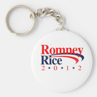 ROMNEY RICE VP SWEEP png Keychains