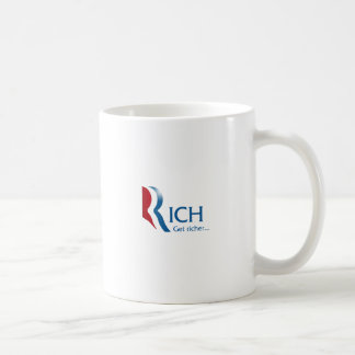 Romney - Rich get richer Classic White Coffee Mug