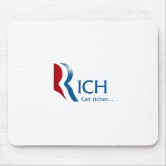 Romney - Rich get richer Mouse Pad