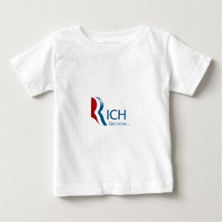 Romney - Rich get richer T-shirt
