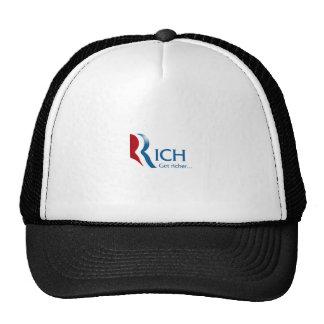 Romney - Rich get richer Trucker Hat