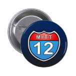 Romney Road to the White House 2 Inch Round Button
