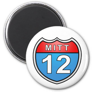 Romney Road to the White House 2 Inch Round Magnet