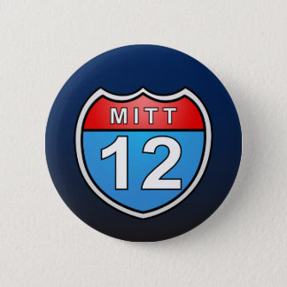 Romney Road to the White House Pinback Button