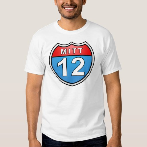 Romney Road to the White House Tee Shirt