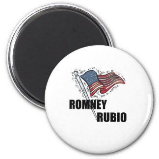 Romney Rubio 2012 Magnets