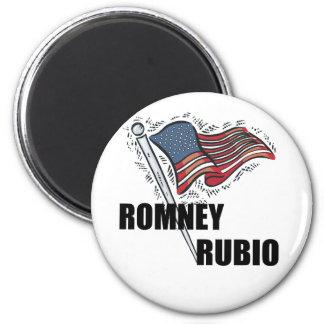 Romney Rubio 2012 Magnet