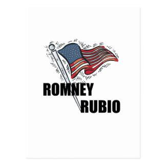 Romney Rubio 2012 Postcard