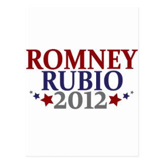 Romney Rubio 2012 Postal