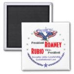 Romney Rubio 2 Inch Square Magnet