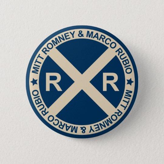 Romney Rubio American Crossroads Button