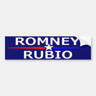 ROMNEY RUBIO Bumper Sticker Car Bumper Sticker