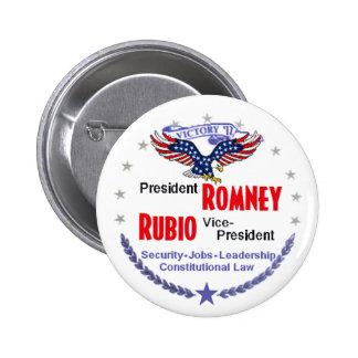 Romney Rubio Button