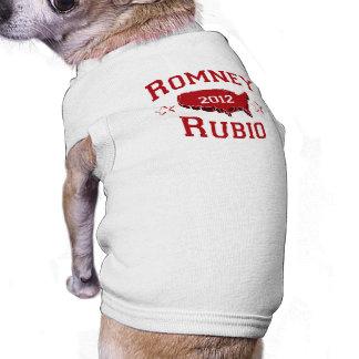 ROMNEY RUBIO DELEGATES png Camiseta De Mascota