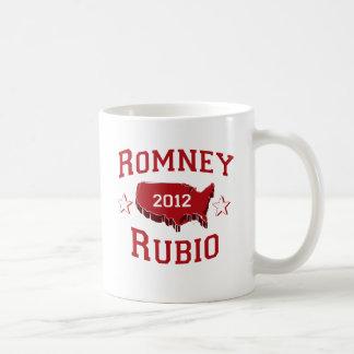 ROMNEY RUBIO DELEGATES.png Classic White Coffee Mug