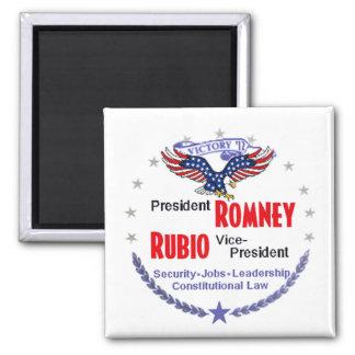Romney Rubio Fridge Magnet