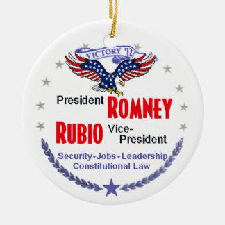 Romney Rubio Ornament