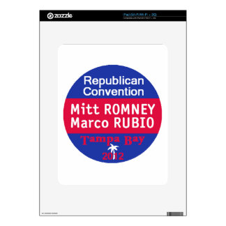 Romney Rubio Skins For The iPad