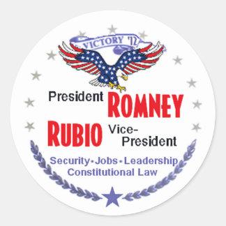 Romney Rubio Stickers