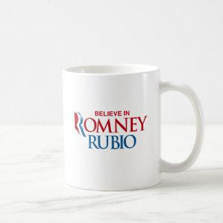 ROMNEY RUBIO VP BELIEVE.png Classic White Coffee Mug
