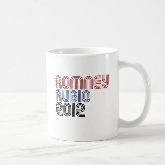 ROMNEY RUBIO VP DISCO.png Classic White Coffee Mug