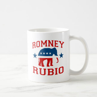 ROMNEY RUBIO VP GOP MASCOT.png Classic White Coffee Mug