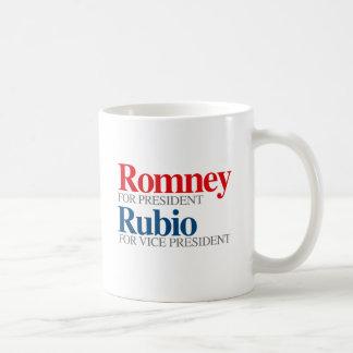 ROMNEY RUBIO VP PICK.png Classic White Coffee Mug