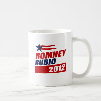 ROMNEY RUBIO VP STAR BANNER.png Classic White Coffee Mug
