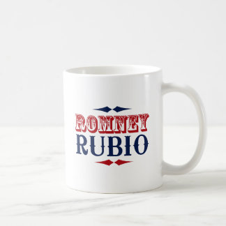 ROMNEY RUBIO VP WILD WEST.png Classic White Coffee Mug
