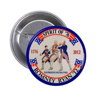 Romney Ryan '12 2 Inch Round Button